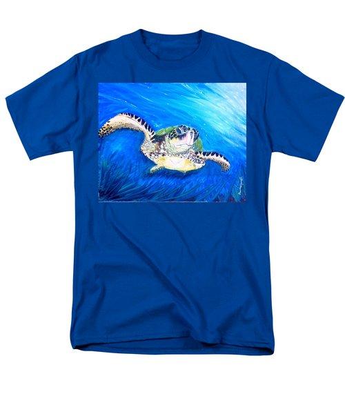 Swim Men's T-Shirt  (Regular Fit) by Dawn Harrell