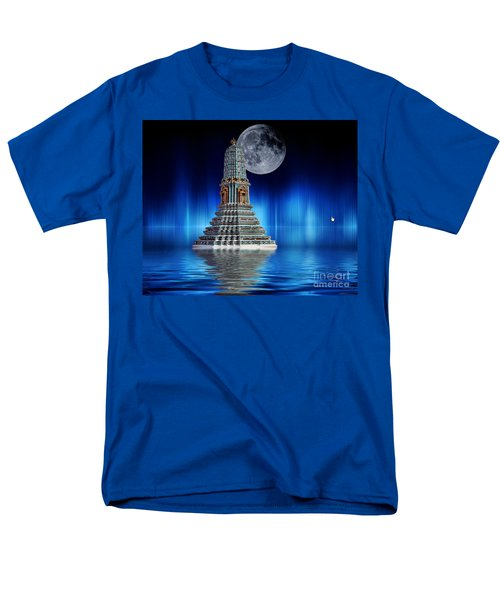 Temple Of The Moon Men's T-Shirt  (Regular Fit) by Shirley Mangini
