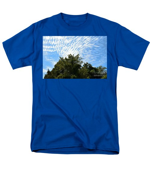 Men's T-Shirt  (Regular Fit) featuring the photograph Texas Scene - Midday  by Ray Shrewsberry