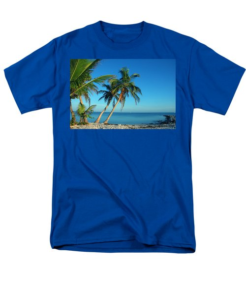 The Blue Lagoon Men's T-Shirt  (Regular Fit) by Susanne Van Hulst