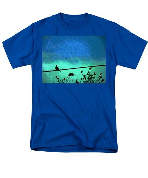 The Dove Above 2 Men's T-Shirt  (Regular Fit) by Lenore Senior