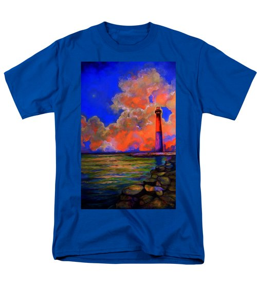 Men's T-Shirt  (Regular Fit) featuring the painting The Light by Emery Franklin