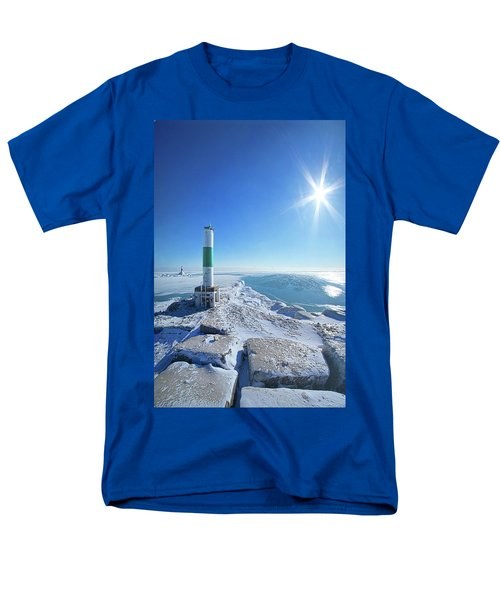 Men's T-Shirt  (Regular Fit) featuring the photograph The Light Keepers by Phil Koch