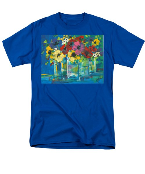 The Line-up Men's T-Shirt  (Regular Fit) by Terri Einer