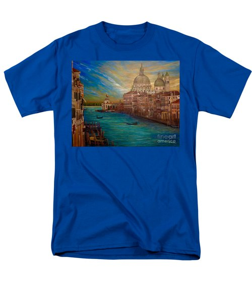The Venice Of My Recollection With Digital Enhancement Men's T-Shirt  (Regular Fit) by Kimberlee Baxter