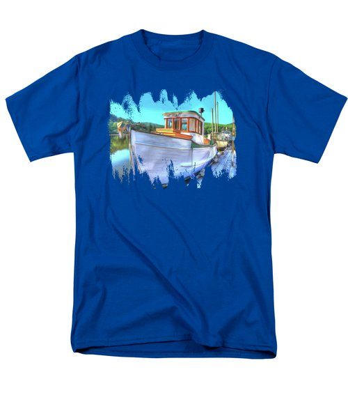 Thee Old Dragger Boat Men's T-Shirt  (Regular Fit) by Thom Zehrfeld