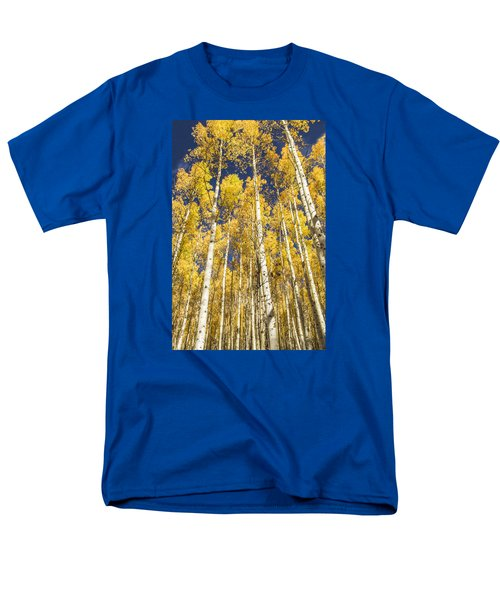 Towering Aspens Men's T-Shirt  (Regular Fit) by Phyllis Peterson