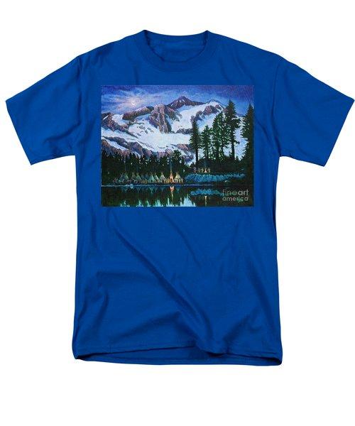Trails West II Men's T-Shirt  (Regular Fit) by Michael Frank