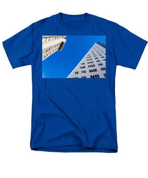 Men's T-Shirt  (Regular Fit) featuring the photograph Triangle Modern Building by John Williams