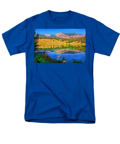 Men's T-Shirt  (Regular Fit) featuring the photograph Trout Lake by Greg Norrell