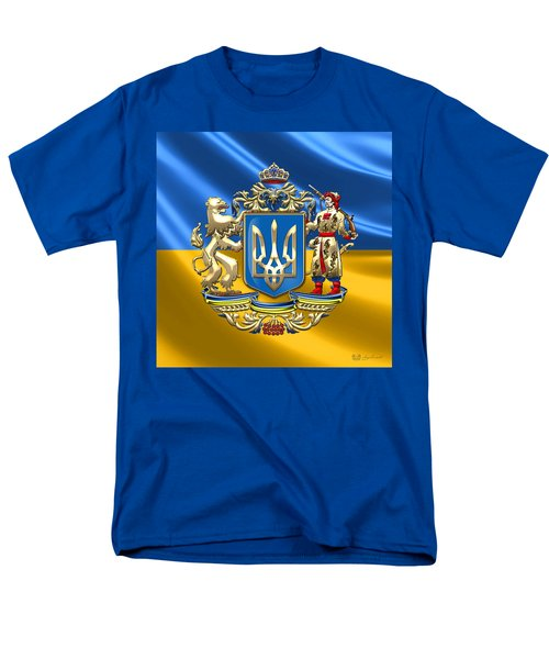 Ukraine - Greater Coat Of Arms  Men's T-Shirt  (Regular Fit)