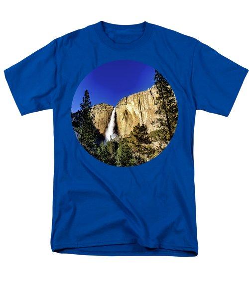 Upper Falls Men's T-Shirt  (Regular Fit) by Adam Morsa
