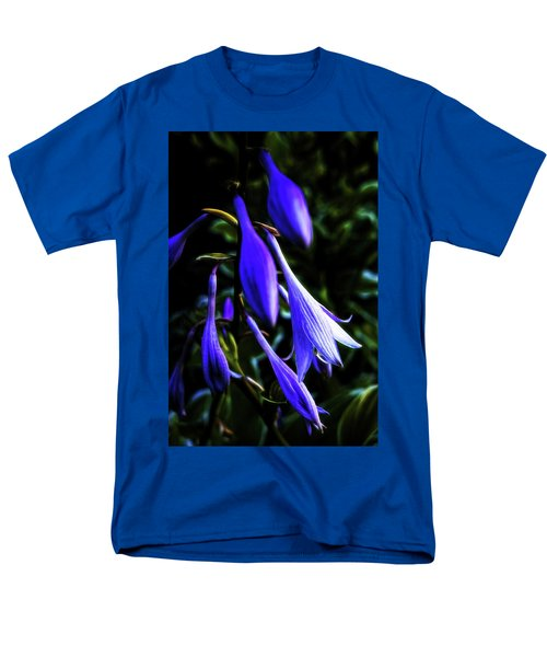 Varigated Hosta Bloom Men's T-Shirt  (Regular Fit) by Robert FERD Frank