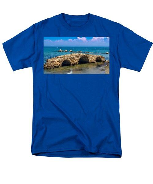 Venitian Bridge Argassi Men's T-Shirt  (Regular Fit) by Rainer Kersten