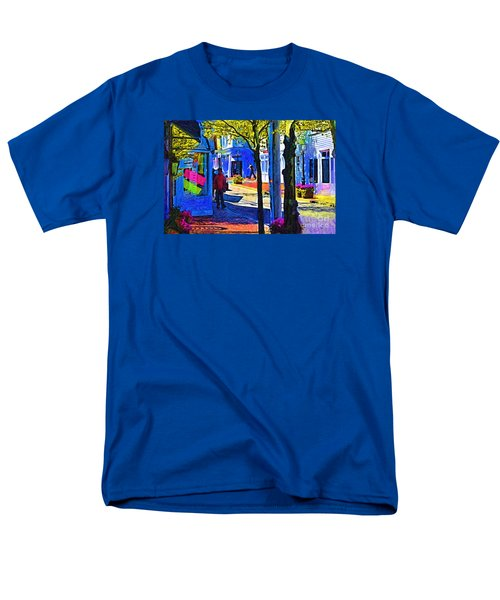 Village Shopping Men's T-Shirt  (Regular Fit) by Kirt Tisdale