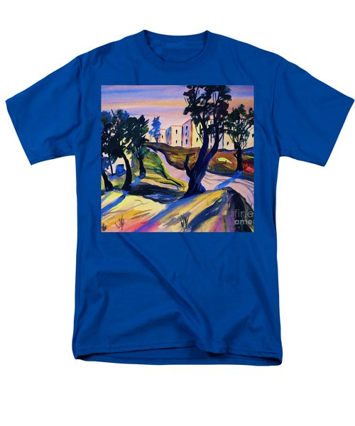 Men's T-Shirt  (Regular Fit) featuring the painting Villefranche by Roberto Prusso
