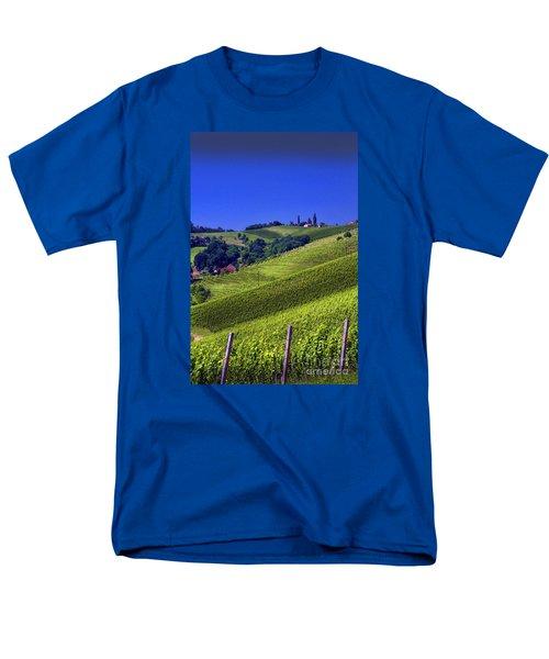 Vineyards Of Jerusalem Slovenia Men's T-Shirt  (Regular Fit) by Graham Hawcroft pixsellpix