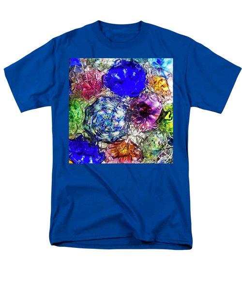 Vitreous Flora Men's T-Shirt  (Regular Fit) by Gary Holmes
