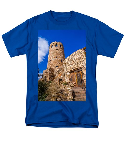 Men's T-Shirt  (Regular Fit) featuring the photograph Watch Tower by Jerry Cahill