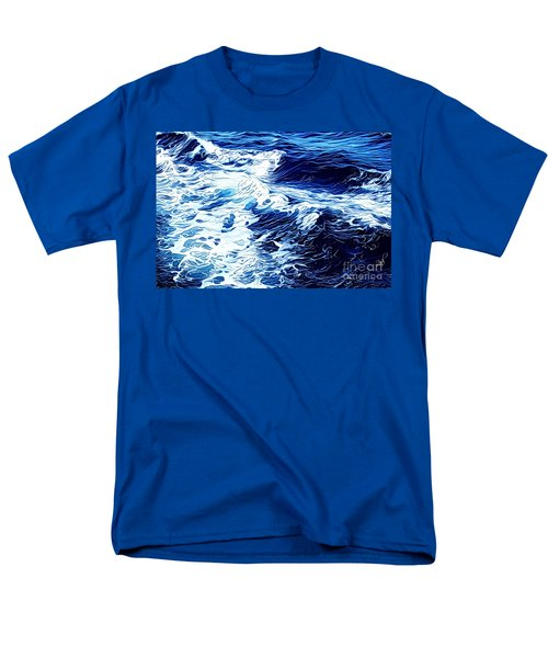 Waves Men's T-Shirt  (Regular Fit) by Zedi