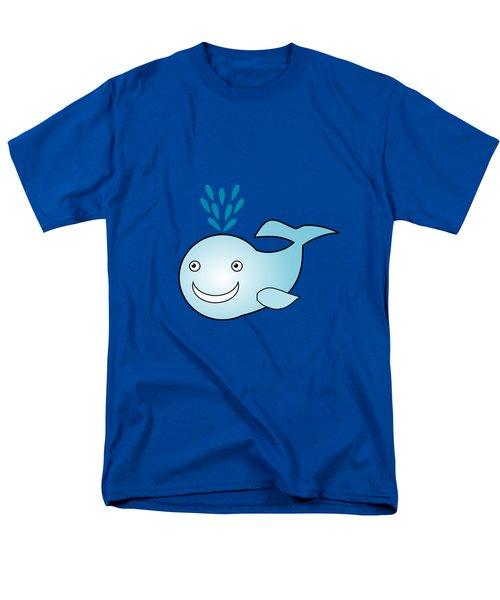 Whale - Animals - Art For Kids Men's T-Shirt  (Regular Fit) by Anastasiya Malakhova