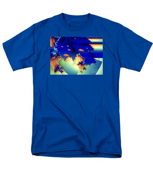 Window On The Undersea Men's T-Shirt  (Regular Fit) by Ron Bissett