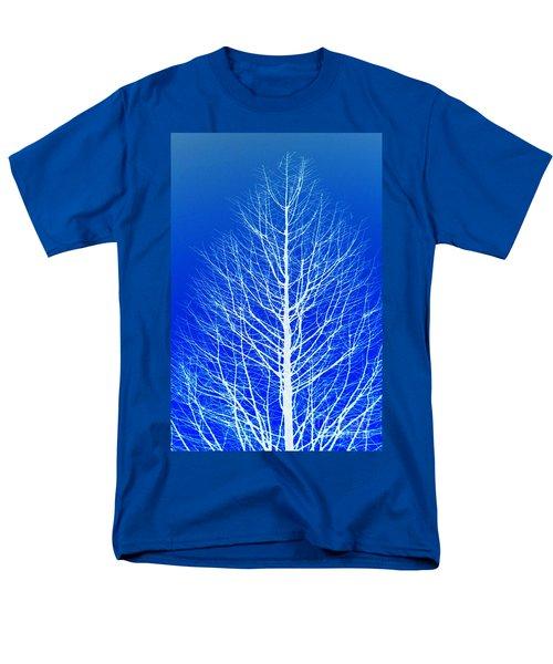 Winter Tree Men's T-Shirt  (Regular Fit) by Donna Bentley