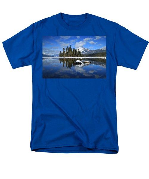 Winters Mirror Men's T-Shirt  (Regular Fit) by Lynn Hopwood