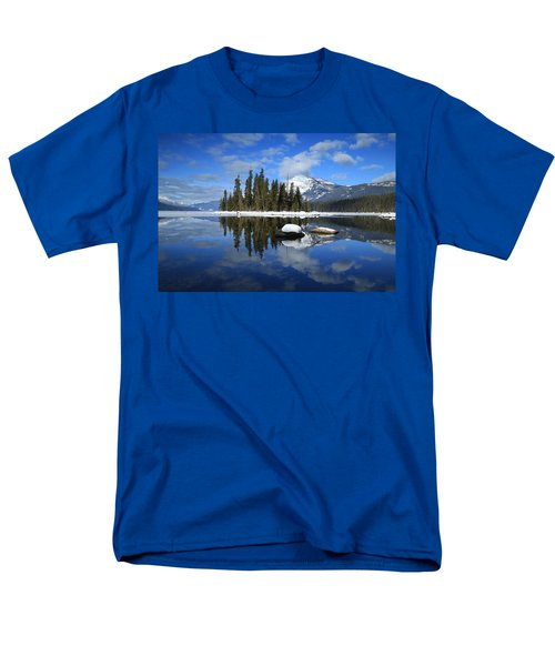 Winters Mirror Men's T-Shirt  (Regular Fit)