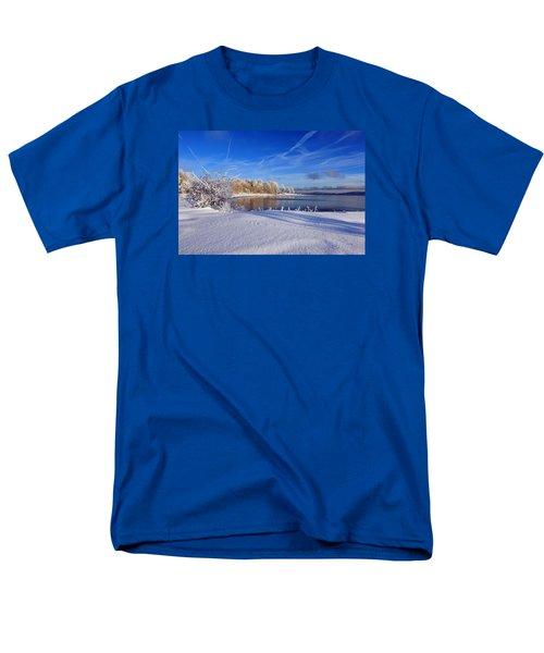 Wondrous Winter Men's T-Shirt  (Regular Fit) by Randi Grace Nilsberg