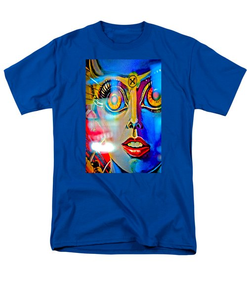 X Is For Xenon - Pinball Men's T-Shirt  (Regular Fit) by Colleen Kammerer