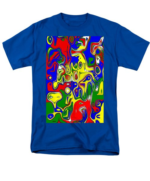 Men's T-Shirt  (Regular Fit) featuring the digital art Yage by Maciek Froncisz