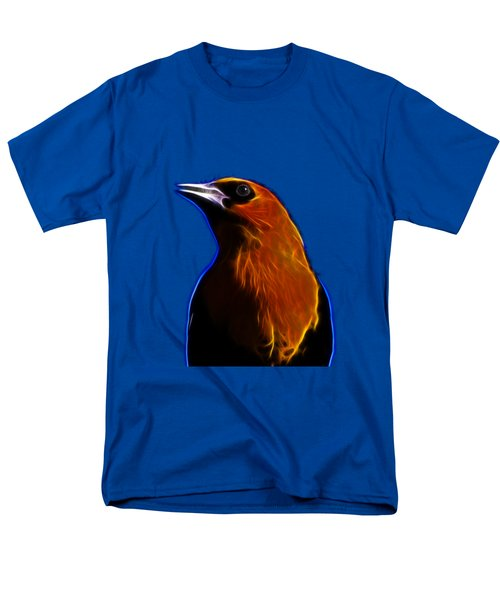 Yellow Headed Blackbird Men's T-Shirt  (Regular Fit) by Shane Bechler