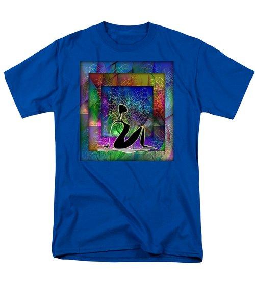 Yoga 6 Men's T-Shirt  (Regular Fit) by Iris Gelbart