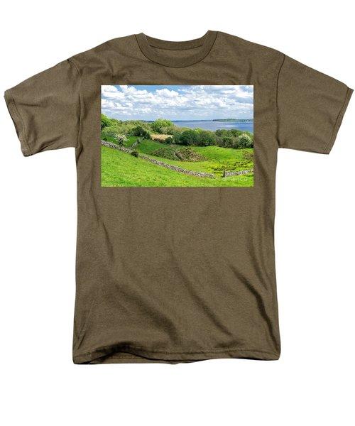 Men's T-Shirt  (Regular Fit) featuring the photograph  Loch Coirib by Juergen Klust