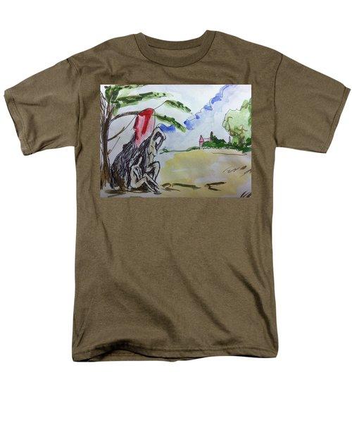 Memory Of  Paul Cezanne Men's T-Shirt  (Regular Fit) by Hae Kim