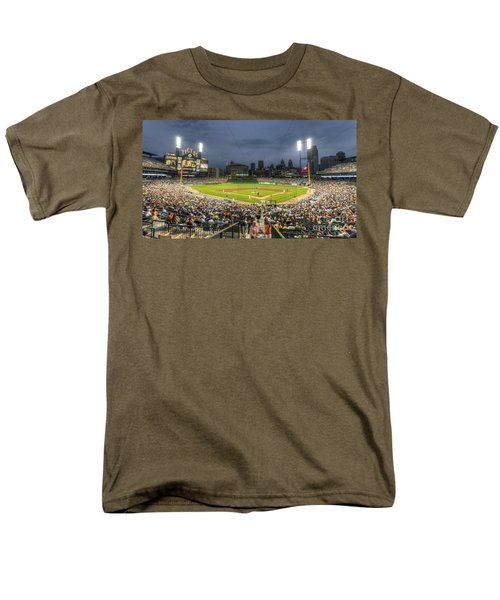 0101 Comerica Park - Detroit Michigan Men's T-Shirt  (Regular Fit) by Steve Sturgill