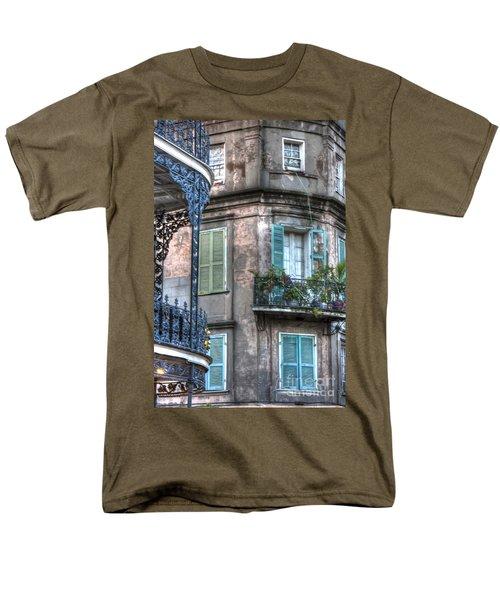 0254 French Quarter 10 - New Orleans Men's T-Shirt  (Regular Fit) by Steve Sturgill