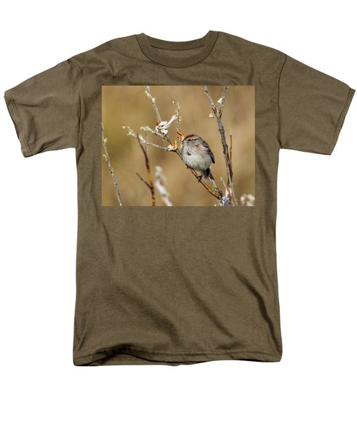 American Tree Sparrow Men's T-Shirt  (Regular Fit) by Doug Lloyd