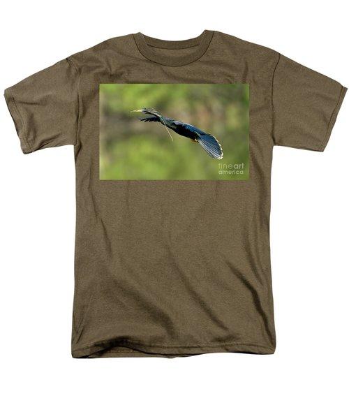 Anhinga Men's T-Shirt  (Regular Fit) by Anthony Mercieca