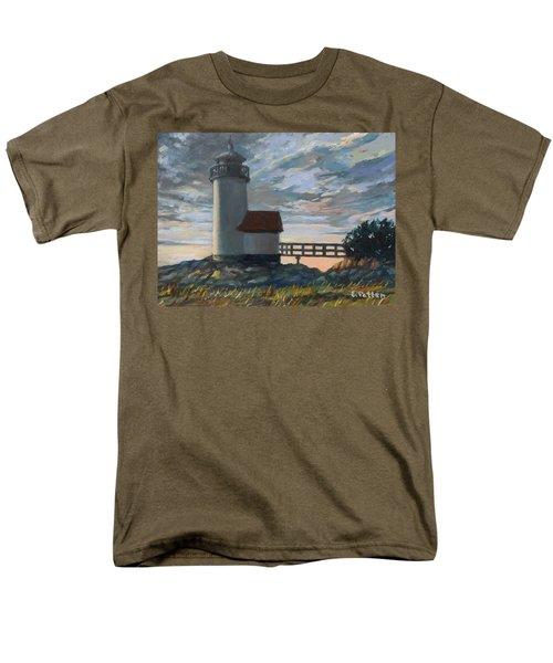 Annisquam Light Men's T-Shirt  (Regular Fit) by Eileen Patten Oliver