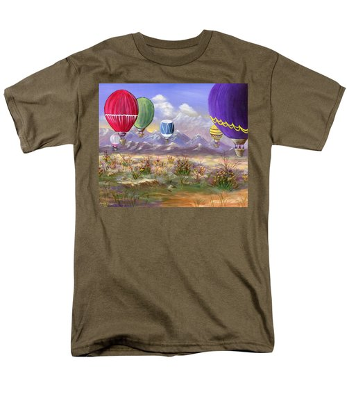 Men's T-Shirt  (Regular Fit) featuring the painting Balloons by Jamie Frier