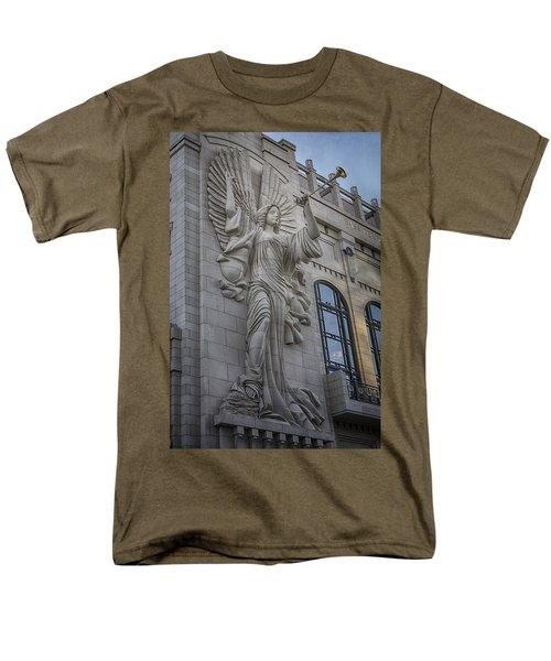 Bass Hall Angel Men's T-Shirt  (Regular Fit) by Joan Carroll