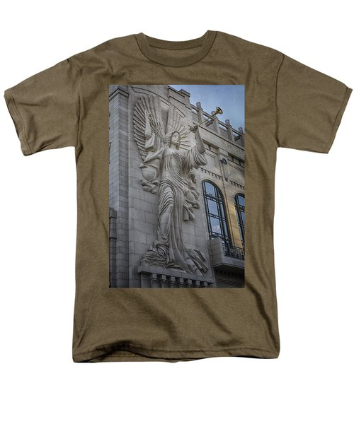 Bass Hall Angel Men's T-Shirt  (Regular Fit)