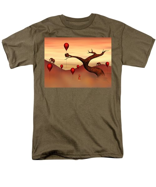 Believe What You See Men's T-Shirt  (Regular Fit) by Gabiw Art