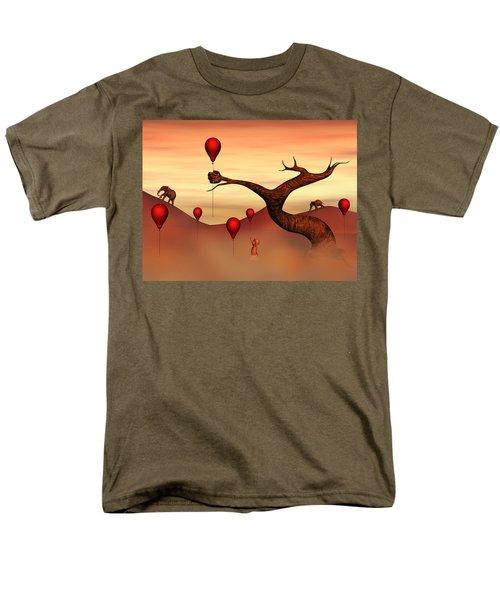 Men's T-Shirt  (Regular Fit) featuring the digital art Believe What You See by Gabiw Art