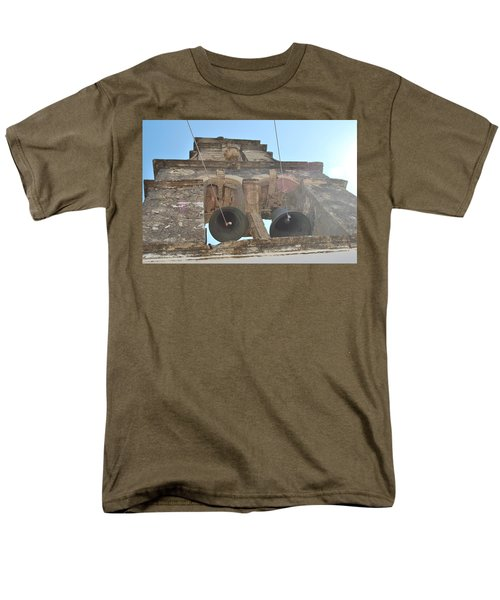 Men's T-Shirt  (Regular Fit) featuring the photograph Bell Tower 1584 by George Katechis