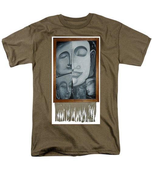 Buddish Facial Reactions Men's T-Shirt  (Regular Fit) by Fei A