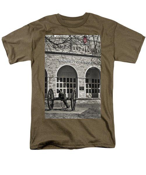 Camp Randall - Madison Men's T-Shirt  (Regular Fit) by Steven Ralser