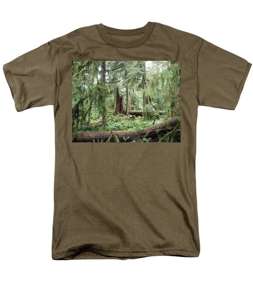 Men's T-Shirt  (Regular Fit) featuring the photograph Cathedral Grove by Marilyn Wilson